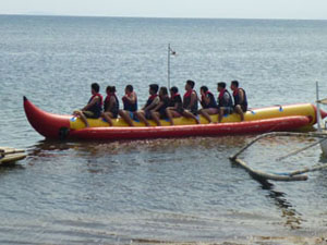 Calatagan Banana Boat Ride