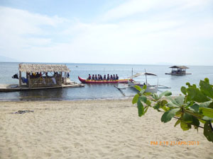Banana Boat ride in Calatagan