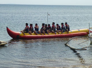 Banana Boat Ride Calatagan